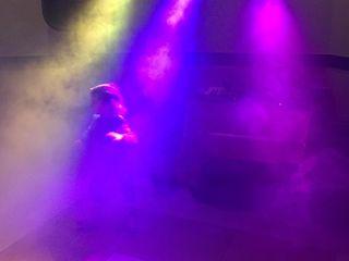 Dj la sarbatori +Lumini show+Fum
