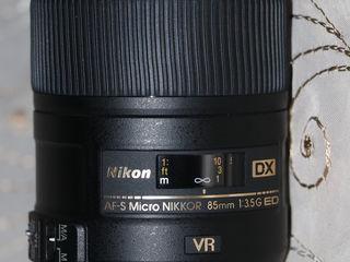 Vind! Nikon AF-S DX Micro Nikkor 85mm f/3.5G Nou