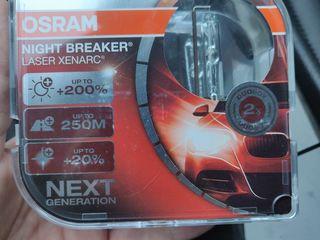 Osram Xenarc Night Breaker Laser D1S +200% DuoPack (2шт) - самый яркий ксенон Osram