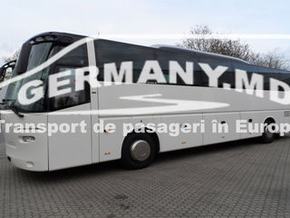 Franta, Portugalia, Spania, Marea Britanie (Anglia) etc. Transport de persoane.