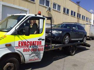 Evacuator, эвакуатор 24/24 -  Эвакуатор по Молдове