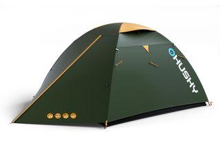 Cort Husky Bird 3 Classic-Verde-3 persoane палатка 3-х местная
