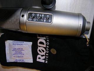 Rode NT 2 A + Наушники_American Audio