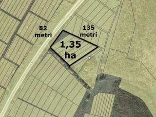 Участок у дороги (Полтава)  Stauceni !!! La traseu ! Vind teren linga padure1.35ha   1000 euro/arul