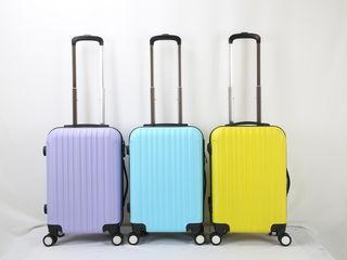idee cadou valiza in plastic (ABS) zboruri low cost geanta avion