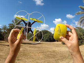 Квадрокоптер с инновационным управлением рукой!