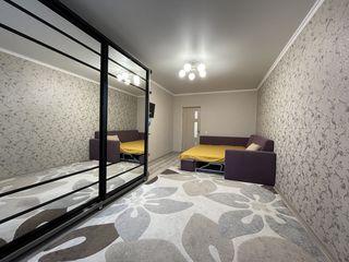 Vând apartament cu 1 cameră, reparație euro, complet mobilat, Botanica, str. Independenței!