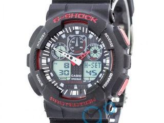 Акция!!Часы наручные G-shock GA-100 плюс подарок Портмане!!