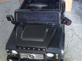 Джип детский электрический б.у на резиновых колесах 1999 лей.