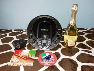удобная Stereo колонка c СD, USB, Karaoke