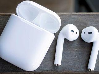 Apple AirPods Wireless Bluetooth Earphones лучший подарок вашим близким!