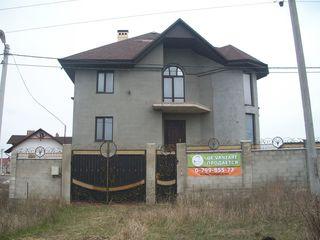 Casa 3 etaje-Cricova,6ari,365 m2-100000 euro