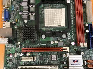 socket AM3 ECS A780LM-M имеет и встроенное видео