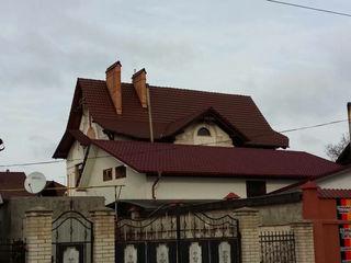 Крыши - мягкая кровля, металлочерепица, профнастил
