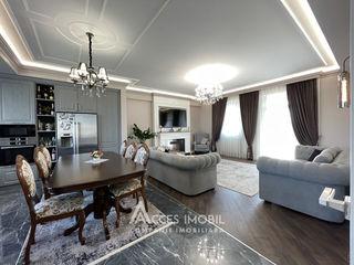 Penthouse! Centru, str. Al. Pușkin, 3 camere + living!Terasă! Reparație exclusivă!