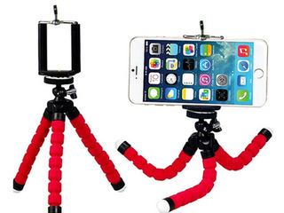 Универсальный гибкий штатив/стойка для смартфона