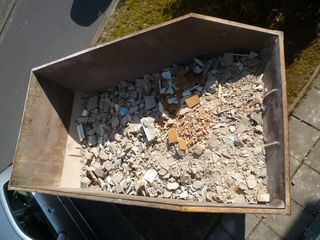 Вывоз строительного мусора контейнером!!!