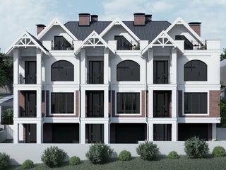 Townhouse! 3 odai + living! Garaj! 225 m.p. Pret 81 000 €