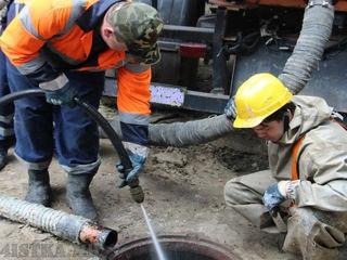 Curatare canalizare cu jet Chisinau