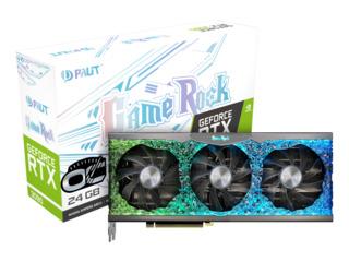 Видеокарта Palit Nvidia GeForce RTX 3090 Gamerock 24G, 24ГБ, GDDR6X, Ret