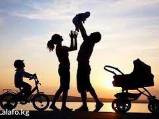 Хорошая семья снимет квартиру или дом на длительный срок в г.Дрокия
