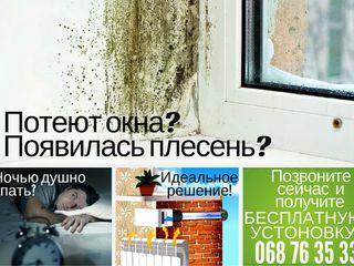 Что делать когда потеют окна и сырость.