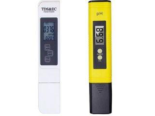 PH tester, TDS-EC tester - определители качества воды.