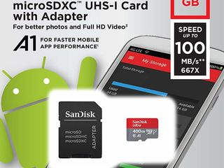 Sandisk Micro Sd 400 gb