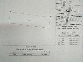 Продаю Земельный Участок в Балцате 23 Сотки = 8.000 Евро (Кадастральный номер 3114106056)