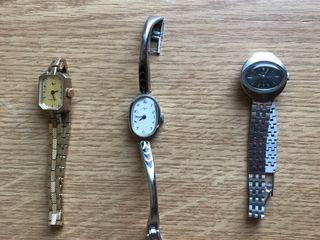 Продаю наручные механические часы Луч и Чайка (СССР)