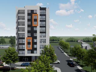 Bloc nou!!!vinzare apartament cu o odaie,40,48mp Orhei-centru