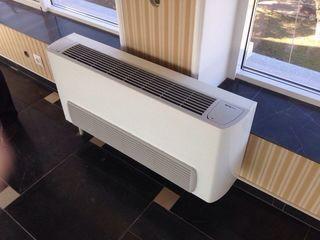 Фанкойлы на воде, эффективная система отопления и охлаждения помещений с витражами и большими окнами