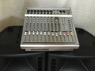 Mixer-usiliteli activ ,, TMX -1200'' - 1200 w. !!! 150 euro !!!  Belgia