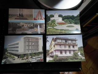 Продам  старые 25 открыток ссср идеальных со старым советским кишиневом -недорого