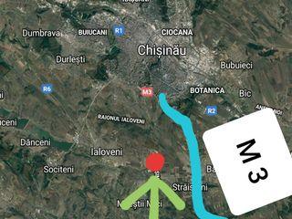 Teren 1 Km de Chișinău