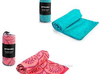 Спортивное полотенце из микрофибры Mandala, prosop Spokey 160 pe 80