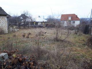Teren pentru constructie 7 ari in or.Cricova(drum asfaltat pina la teren)