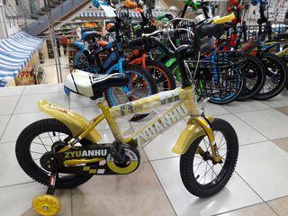 """Распродажа - 50% Детские велосипеды для детей от 3 до 5 лет (""""14"""")  800 лей"""