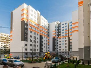 Vânzare apartament cu 3 camere separate + living, bloc nou, design individual, str. Sprîncenoaia!