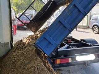 Доставка щебня ,песка ,пгс,молузы.