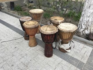 Tobe lucrate manual (handmade) - tobe șamanice, djembe, tam-tam, butoaie (dobe)