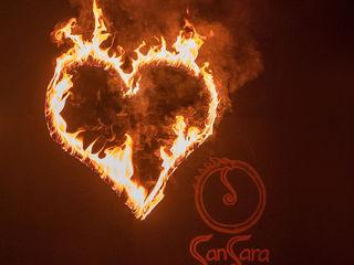 Teatrul de foc Sansara - un show inedit (+tobe africane)