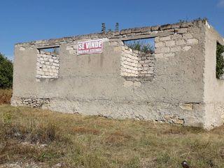 Casa nefinisata cu teren de construit