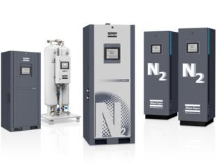 Generatore de azot  si generator de oxigen Atlas Copco