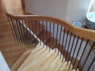 Scari , balustrade din lemn - лестницы , перила из дерева