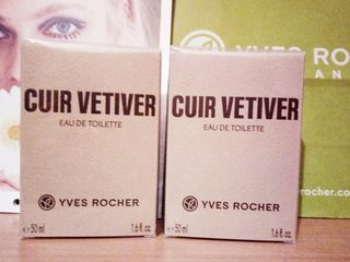 Ambre Noire, Cuir Vetiver Yves Rocher