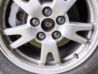 Оригинальные диски Toyota.