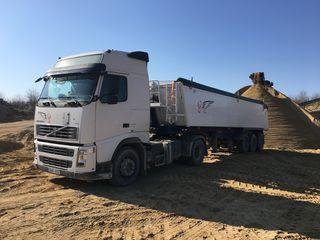 Oferim servicii transport marfuri (cereale, nisip, pietris, savura, carbune , keramzit si altele)