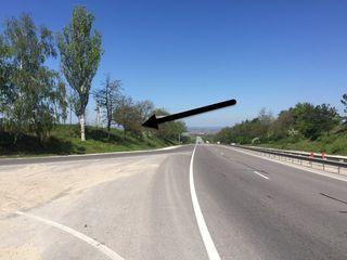 Участок у дороги Стэвчены m2 La traseu, chisinau-orhei 2,7 ha 3 km de chisinau!  1000 euro