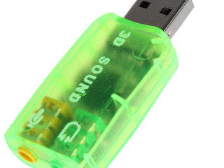 USB аудио (звуковая карта) всего за 50 лей